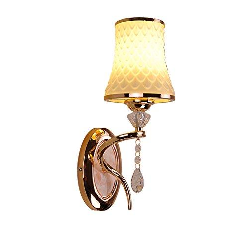 GKJ Lampe murale Led Salon chaleureux Chambre à coucher Étude du lit Corridor Lights (style : A)