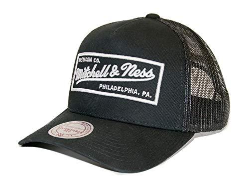 Mitchell & Ness Classic Trucker Snapback - Box Logo - Own Brand, blk/wht
