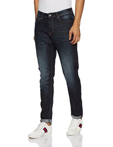 United Colors of Benetton Men's Carrot Fit Jeans (8903975421363_17A4L23R6030I90134_34W x 30L_Blue)