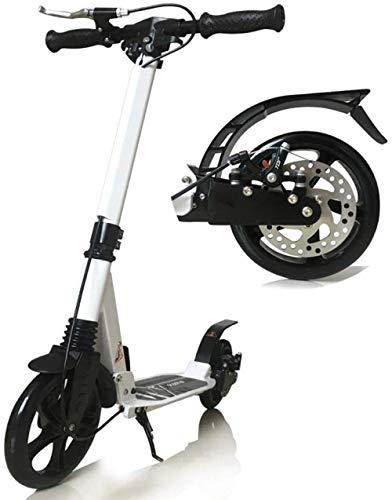 Scooter Einstellbarer Erwachsener Mit Riesenradlenker Nicht Elektrischer Stoßdämpfender Mit Scheibenhandbremse 150 Kg Last Erwachsener Balance City Roller Für Erwachsene