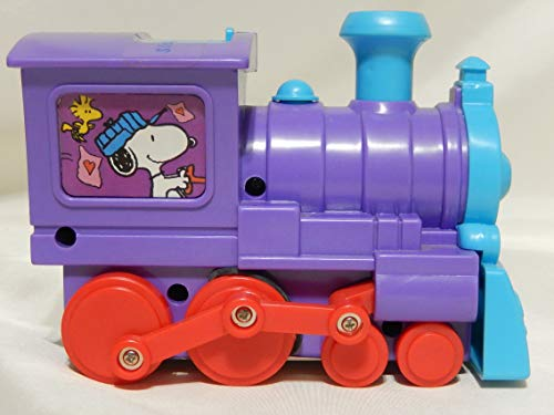 Why Should You Buy United Feature Syndicate Peanuts Snoopy Valentine Locomotive Candy Dispenser