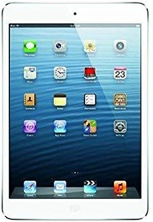 Apple iPad Mini MD531LL/A 16GB, Wi-Fi, (White/Silver) Tablet with Skin (Refurbished)