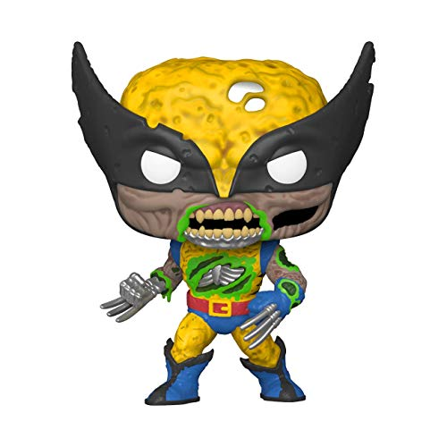 Funko- Pop Marvel Zombies-Wolverine Figura Coleccionable, Multicolor (49123)