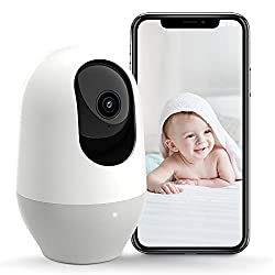 Image of Nooie Baby Monitor, WiFi Camera, Pet Camera 1080P, 360-degree Wireless IP Camera, Home Security Camera, Motion Tracking, Super IR Night Vision, Two-Way Audio, Motion & Sound Detection: Bestviewsreviews