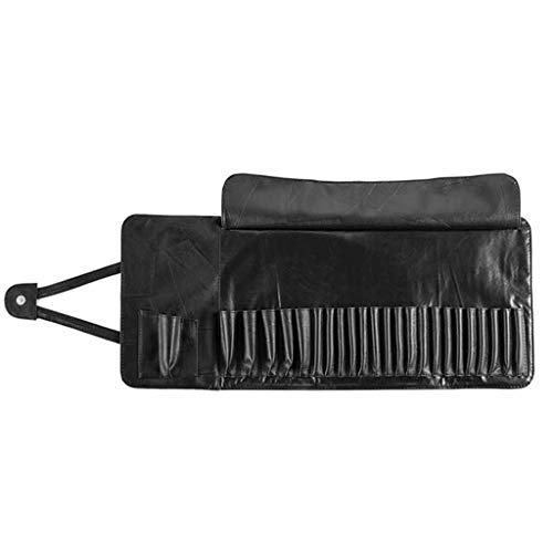 PENG Professional 12/24 Slot Makeup Brush Holder Cosmetic Organizer Rolling Bag Case Container Pouch Sacs