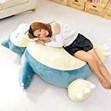 None/Brand Large Size 50/200cm Anime Soft Animal Snorlax Doll Plush Toys Pillow Bed Only Cover(No Filling with Zipper) Kids Gift