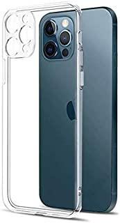 Apple Iphone 12 Pro Clear Case Camera Lens Protection Soft Silicon HD Transparent Case Quality & Camera Protection Only Ex...
