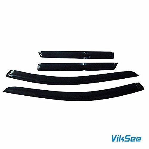 4pcs for 2007-2013 Edge/Lincoln MKX Sun Rain Guard Vent Shade Window Visors
