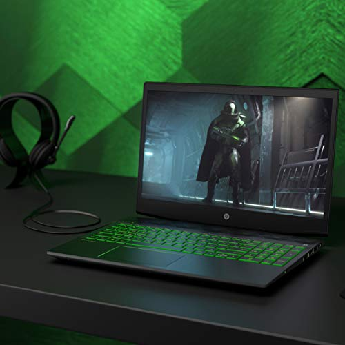 HP Pavilion Gaming 15-cx0023nf PC Portable Gaming 15,6' FHD IPS Noir (Intel Core i5, RAM 8 Go, 1 To + SSD 128 Go, NVIDIA GeForce GTX 1050, AZERTY, Windows 10)