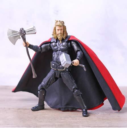 Figura De Thor Película Endgame Infinity War 4 Hero Thor Figura De Acción Figuarts Modelo Muñeca De Juguete Regalo 18cm
