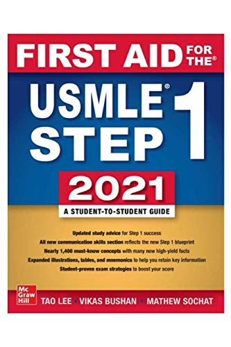 Compare Textbook Prices for First Aid: for the USMLE Step One 2021  ISBN 9782784440098 by Lee, Tao,Bushan, Vikas,Sochat, Mathew