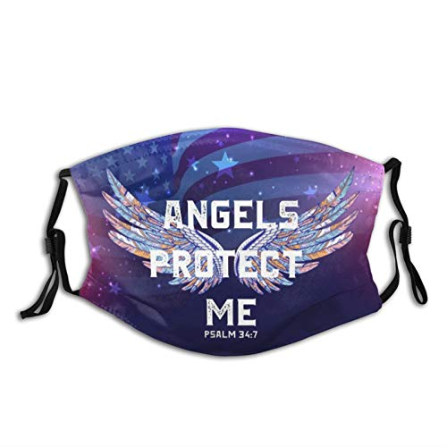 Angel Protect Me Adjustable, Washable, Dust-Proof, Anti-Pollen, Stylish And Easy To Use, Very Convenient.