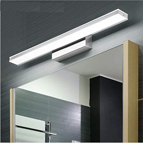 XIAJIA -9W 900LM Lámpara LED de pared, Lámpara de espejo Aplique de Baño LED 420mm 6000K para Espejo Muebles de Maquillaje Aparato Montado en la Pared(Blanco Frío)