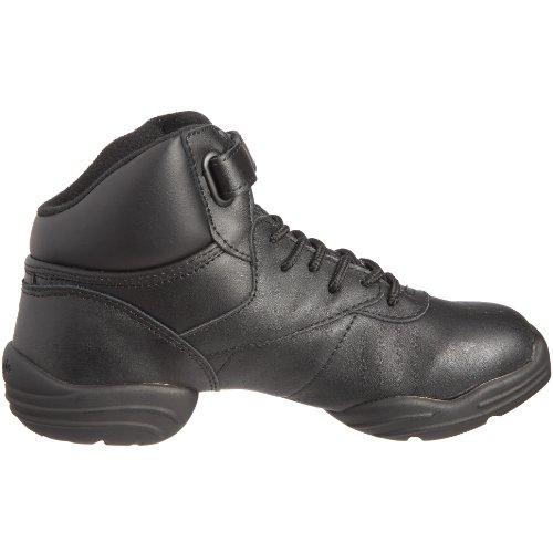 Capezio Dansneaker DS01, Unisex – Erwachsene Sneaker, Tanzen, schwarz, 42.5 - 6