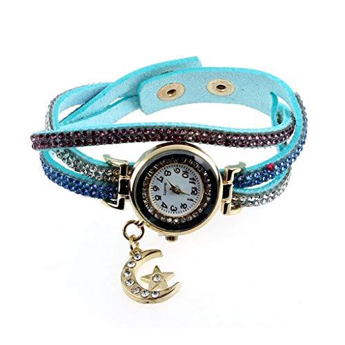HBR Reloj Reloj del Brazalete del Reloj de Las Mujeres for el Regalo del Aniversario de Boda cumpleaños graduación de Amor Amigo de la mamá Relojes Grabados Accesorios de Moda
