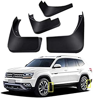 Mud Flaps Kit for 2018 2019 Volkswagen VW Atlas Mud Splash Guard Front and Rear 4-PC Set by TOPGRIL