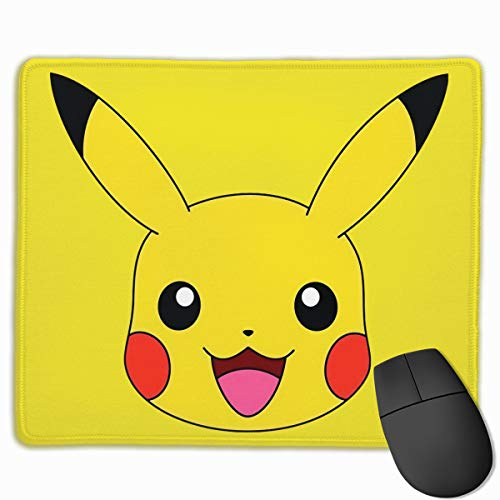 Pikachu 3D Printing Gaming 25cmx30cm Office Mousepad Custom