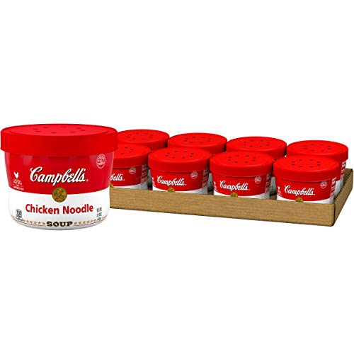 8 Pack of Campbell's Soup, Chicken Noodle, 15.4 Oz Now $6.76