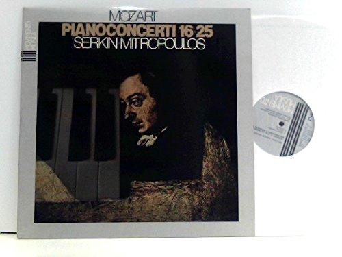Mozart, Serkin, Mitropoulos – Piano Concerti 16 • 25