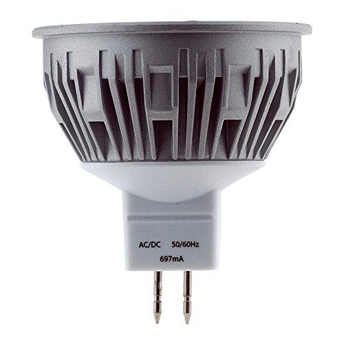 CROMPTON GU5.3 Lampe LED, 5 W (équivalent 50 W), Angle lumière : 50 °, Blanc Froid