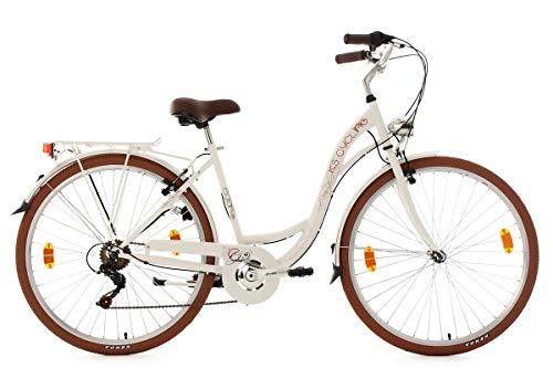KS Cycling Damenfahrrad 28'' Eden weiß RH48cm