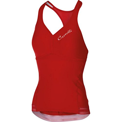 Castelli Womens Bellissima Wonder Cycling Top - A15062 (red - XS)