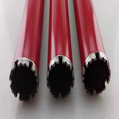SIMNO JIAHONG Herramienta de perforación de 51/56 / 63 mm * 450 mm con 1-1/4' cantidad de Diamante en húmedo Brocas Corona de perforación for la perforación en el mármol/Granito/hormigón/Pared