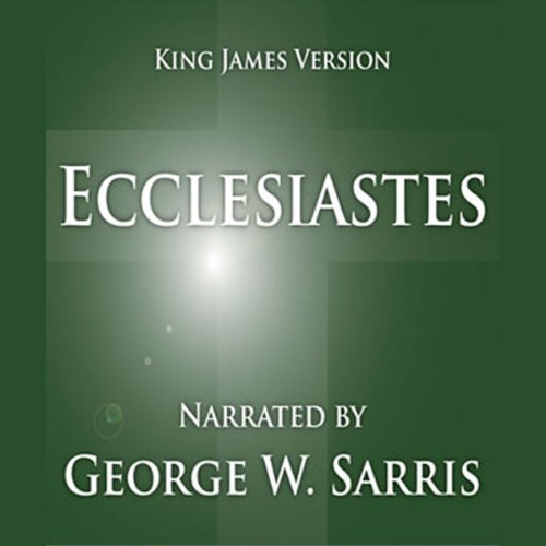 The Holy Bible - KJV: Ecclesiastes audiobook cover art