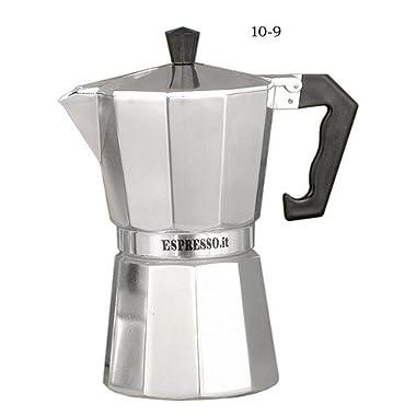 G.A.T. 10-9 Aluminium Stove Top Espresso Maker Classic Plate Grill, Aluminum