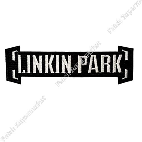 Astonish Linkin Park bestickter Aufnäher/Aufbügler Rock Band Kostüm Emblem