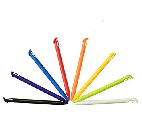 Mcbazel Penne stilo 8 pezzi Penne touch screen di ricambio per Nintendo New 3DS XL (più colori)