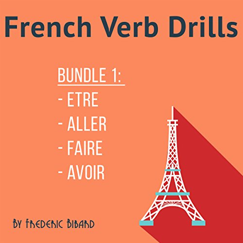 French Verb Drills audiobook cover art