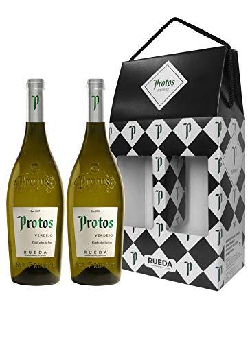 Protos Verdejo, Estuche Vino Blanco 2 botellas 75cl