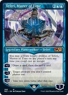 Magic: The Gathering - Teferi, Master of Time (292) - Showcase - Core Set 2021