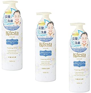 (Bulk purchase) Bifesta Foam Face Wash Bright Up 180g (× 3)