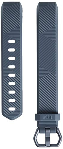 Fitbit Alta HR and Alta Classic Accessory Band, Blue Gray, Small