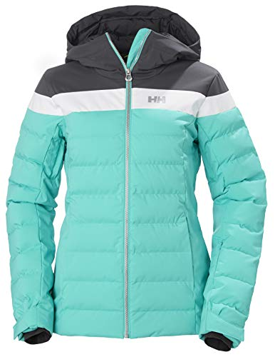 Helly Hansen W Imperial Puffy Jacket Chaqueta Con Doble Capa, Mujer, Turquoise, M