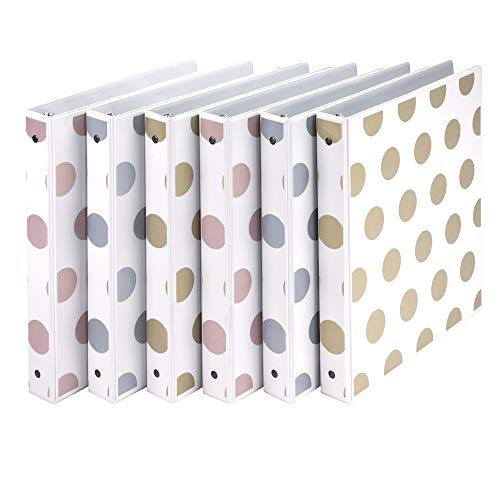 Samsill Fashion Design 3 Ring Binder, Digi Diamond Print