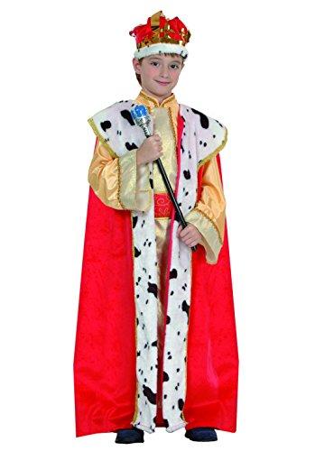 Fiori Paolo- Re Magio Costume Bambino, Marrone, M (5-7 anni), 61050.M