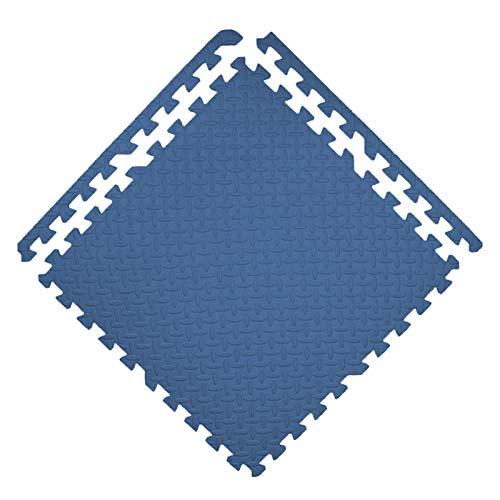 GHHZZQ Interlocking Puzzle Mat Antideslizante Cutable Alfombrillas de Espuma con Marco para Cuarto Cuarto de Los Niños Jardín de Infancia Equipo de Juego Suave, Varios Tamaños