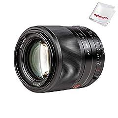 【Portrait-Length】:Compatible With Fujifilm X-mount portrait-length lens is designed for APS-C-format FUJIFILM X-mount mirrorless cameras 【Auto Focus】: Support Auto Focus,Electronic Aperture 【Large Aperture】: Bright f/1.4 maximum aperture suits workin...