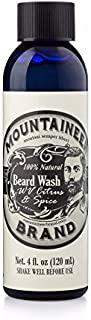Beard Wash by Mountaineer Brand (4oz) | WV Citrus & Spice Scent | Premium 100% Natural Beard Shampoo