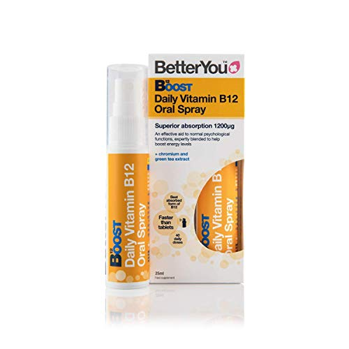 Better You Boost Pure Energy Spray - 25ml (Pack of 4)