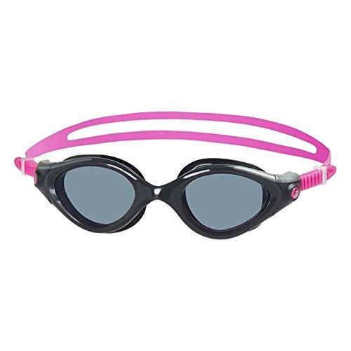 Speedo Futura Biofuse 2 Womens zwembril - Rooklens - Grijs/Roze