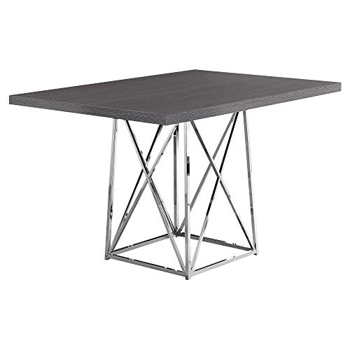 Monarch Specialties I Dining Table Metal Base, 36