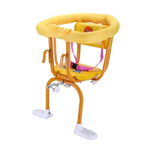 SZPDD Baby-Fahrradsitz für Kinder, Kindersitz vorn und hinten mit Sicherheitsgurt,A