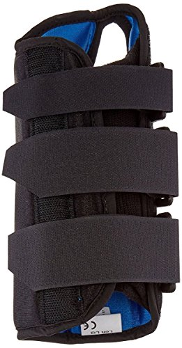 RolyanFit 8' Extra-Large Wrist Brace, Left Handed, Ergonomic Stabilizer Splint for Wrist Injures, Carpal Tunnel, Tendonitis, Breathable Recovery Aid for Prolonged Wear and Use