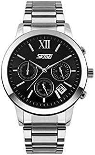SKMEI Casual Watch For Men Analog Stainless Steel - 9097