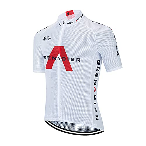 Maglia Ciclismo Estivo Manica Corta Abbigliamento Ciclismo Uomo Traspirante