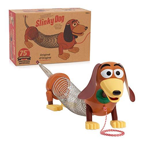 Retro Slinky Dog, The Original Walking Spring Toy